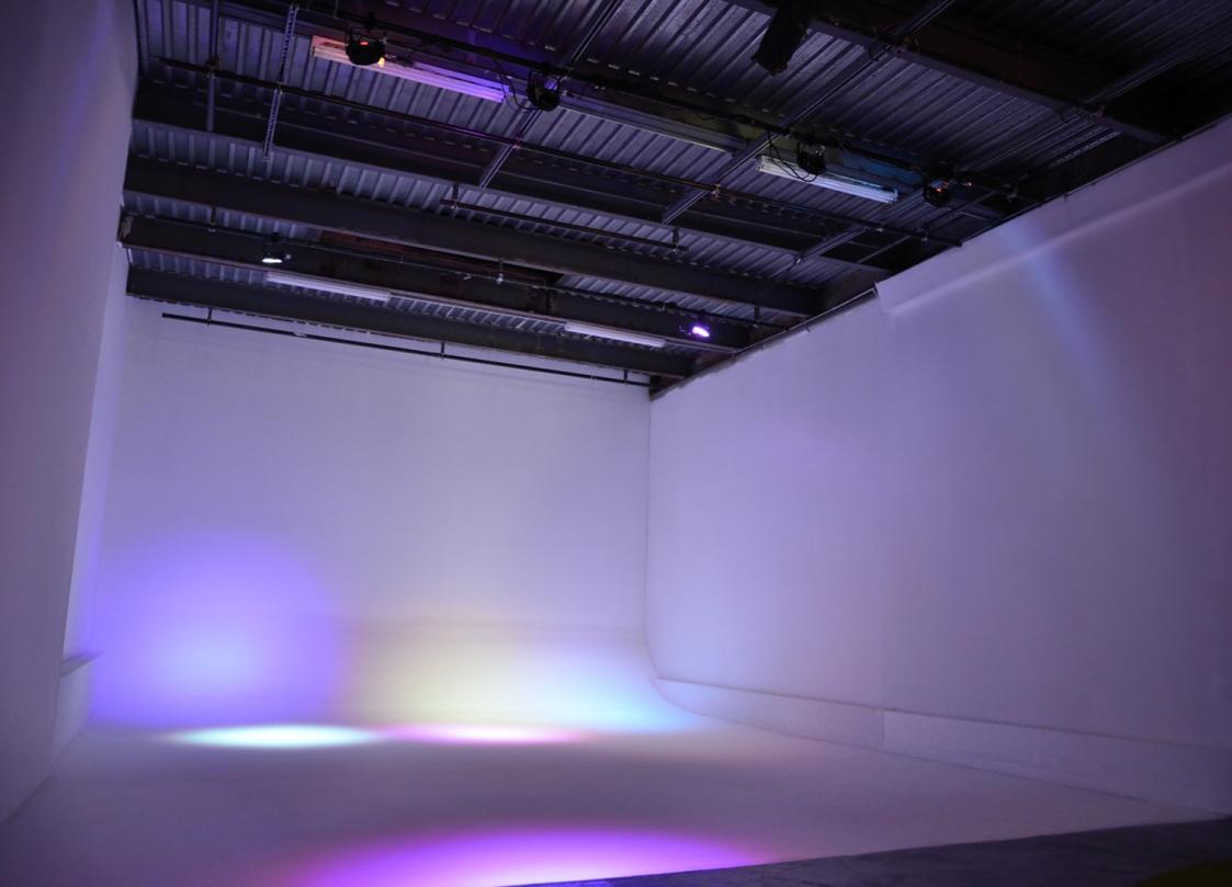 Purple full wall