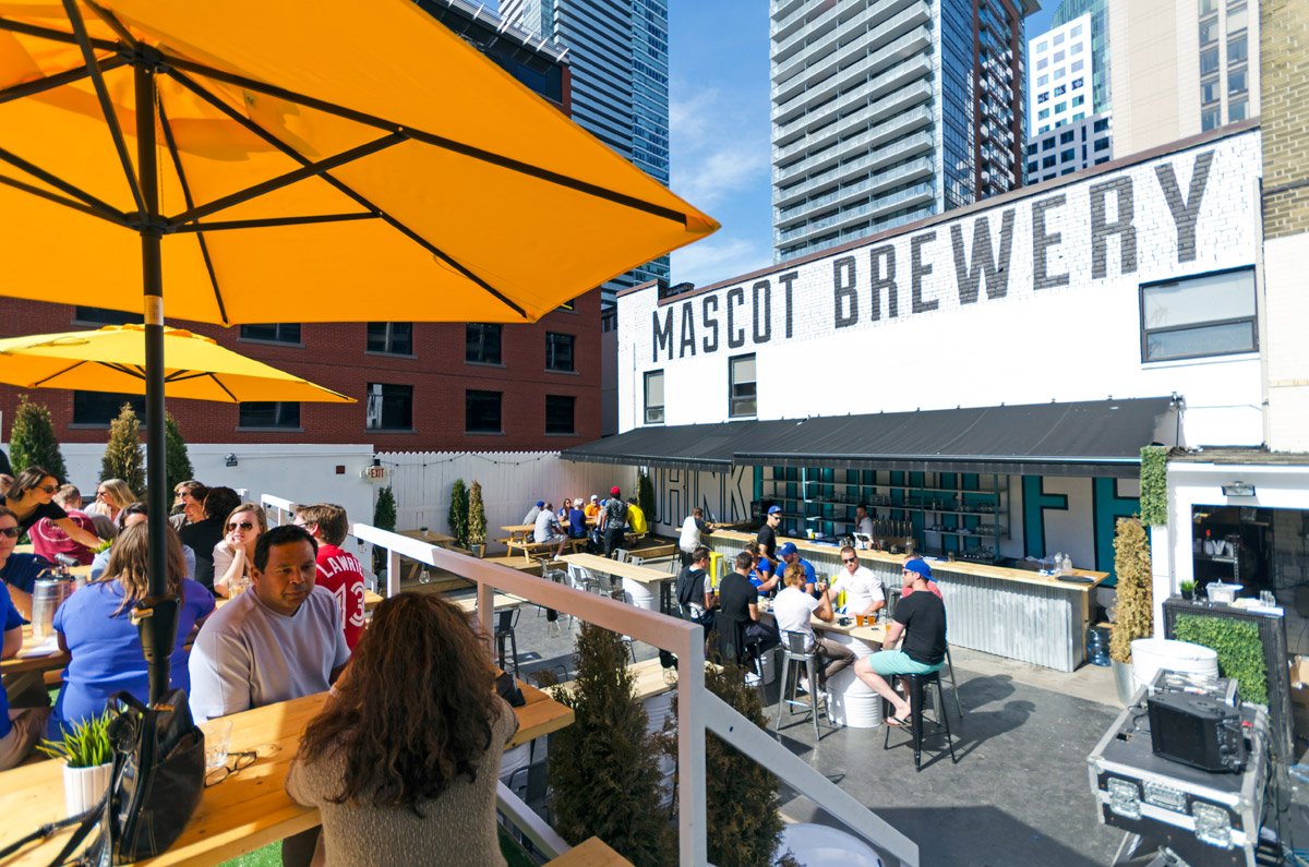 Toronto best patio guide summer 2015 mascot brewery