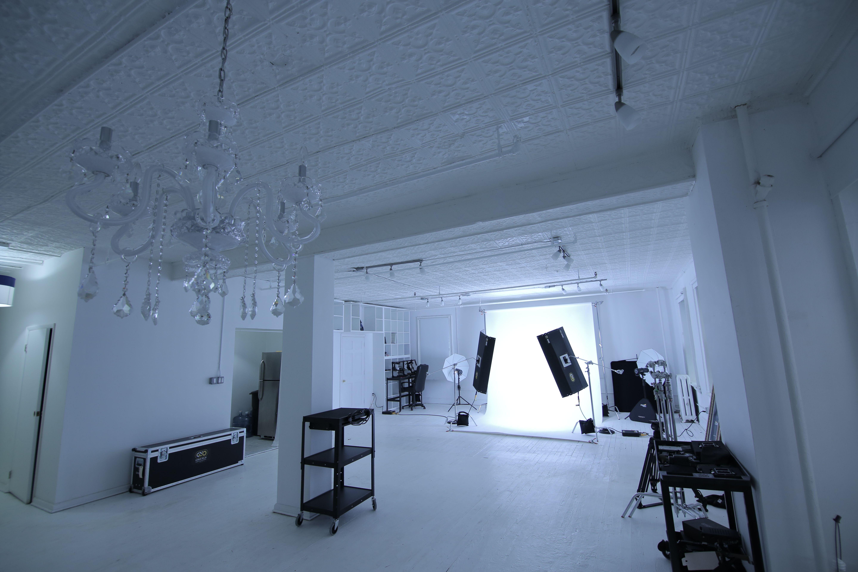 Blue jean studio night