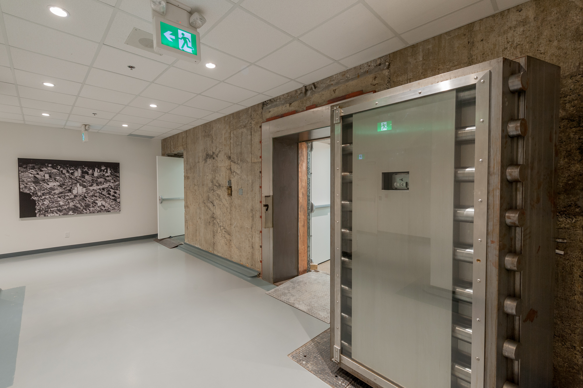 250university vault door