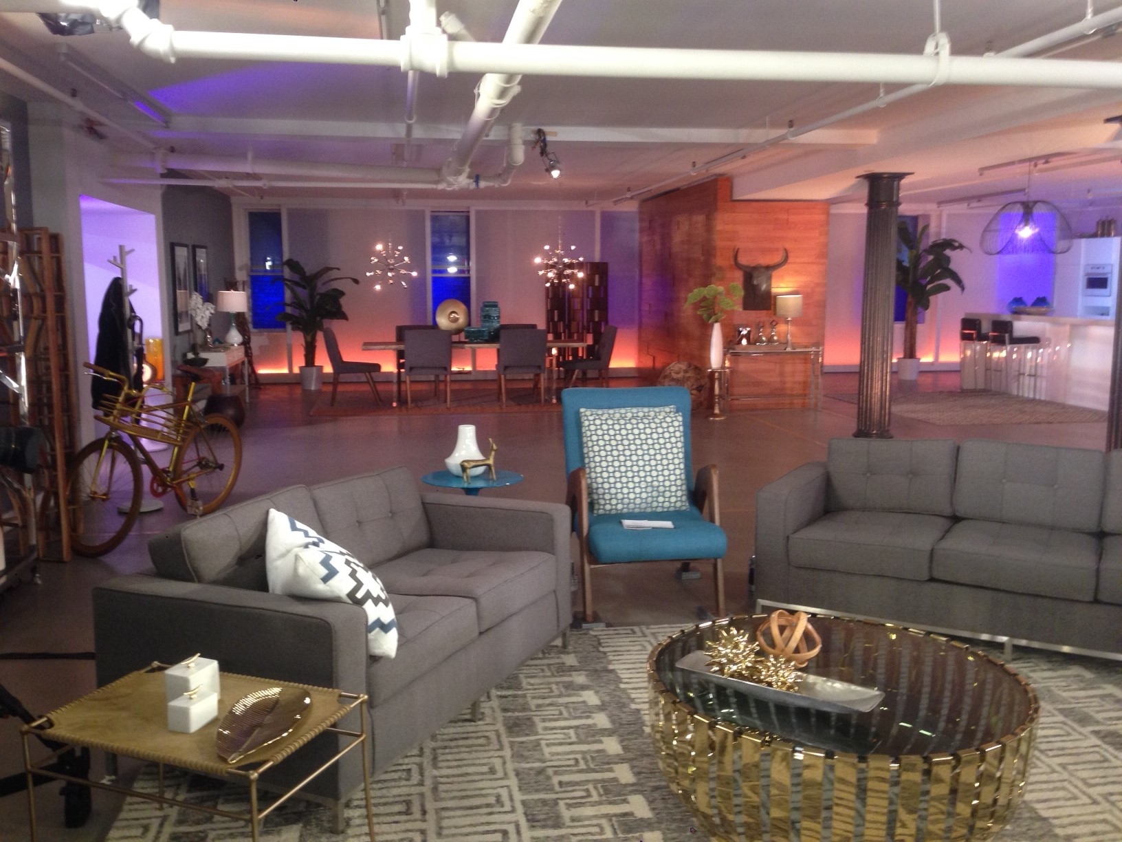 Lower level   staged   tv show