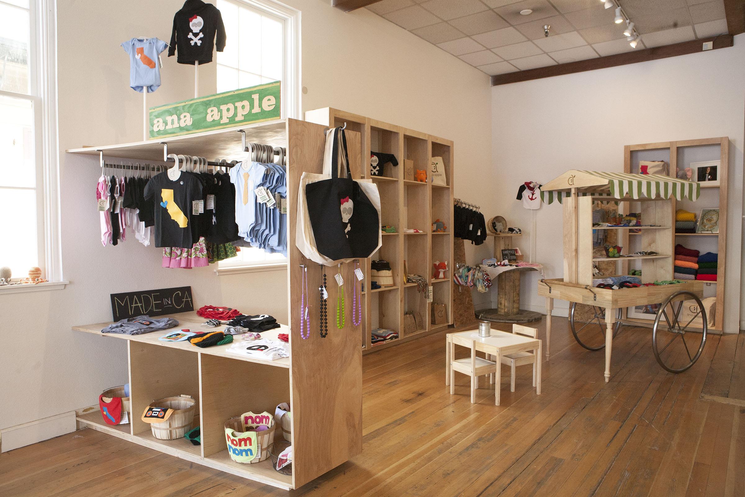 Store interior web