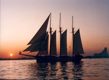 Tallship sunset cruise lg