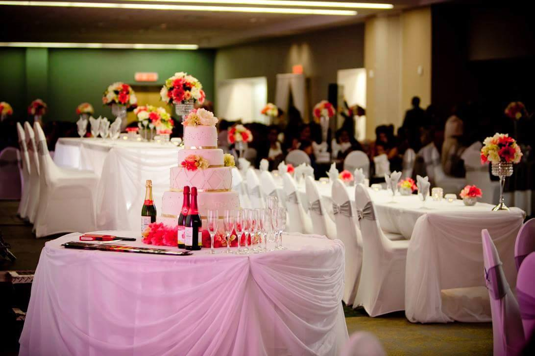 Cake table picture   meeting rooms